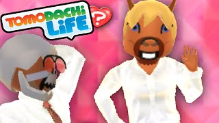 Tomodachi Life 3DS Creepy Horse Love Test, Mickey Mouse Mii Gameplay Walkthrough PART 15 Nintendo