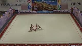 """Турнир по художественной гимнастике """"Метелица"""" 2017. День первый. Часть 3"""