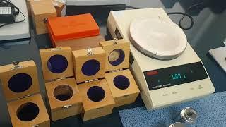 나노측정과 계측실험 - 질량측정