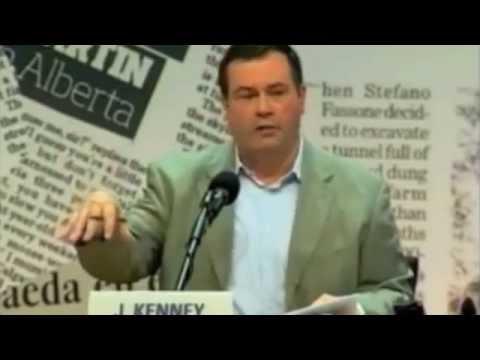 Jason Kenney praises British imperialism