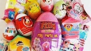 11 Surprises Unboxing Minnie Mouse, Littlest Pet Shop, The Lion King, Filly Princess, Inki Dinks