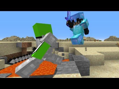 Minecraft Speedrunner Vs Full Diamond Juggernaut Youtube