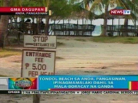 BP: Tondol beach sa Anda, Pangasinan, ipinagmamalaki dahil sa mala-Boracay na ganda