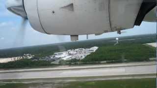 mayair dornier 228 200 take off from cun oct 2010 mov