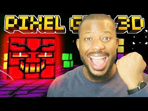 OMG! FINAL CUBIC BOSS ENDING!   Pixel Gun 3D