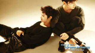 [Eng, Rom & Kor ] TVXQ - Before You Go (Monologue Ver.)