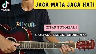 ( KUNCI GITAR & LIRIK ) JAGA MATA JAGA HATI - DJ Qhelfin | Gitar Tutorial