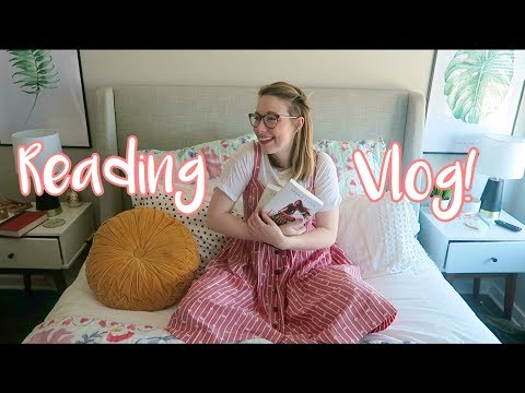 READING VLOG: New Book LOVE! (omg I am obsessed with this book!)