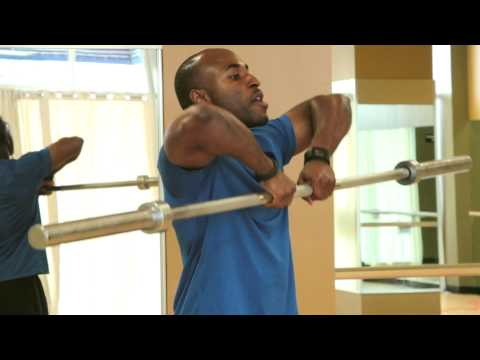 What Muscle Is Developed Doing the Barbell Upright Row? : Full Fitness Training