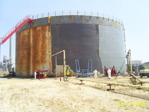 Surface Preparation and Painting of Storage Tanks