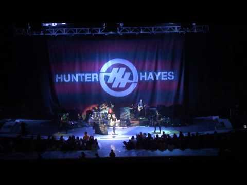 Hunter Hayes - Faith to Fall Back On (Hershey, PA 1/14/12)