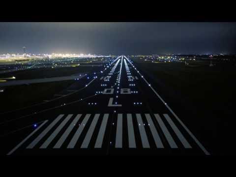 Vue aérienne de l'aéroport Paris-Charles de Gaulle