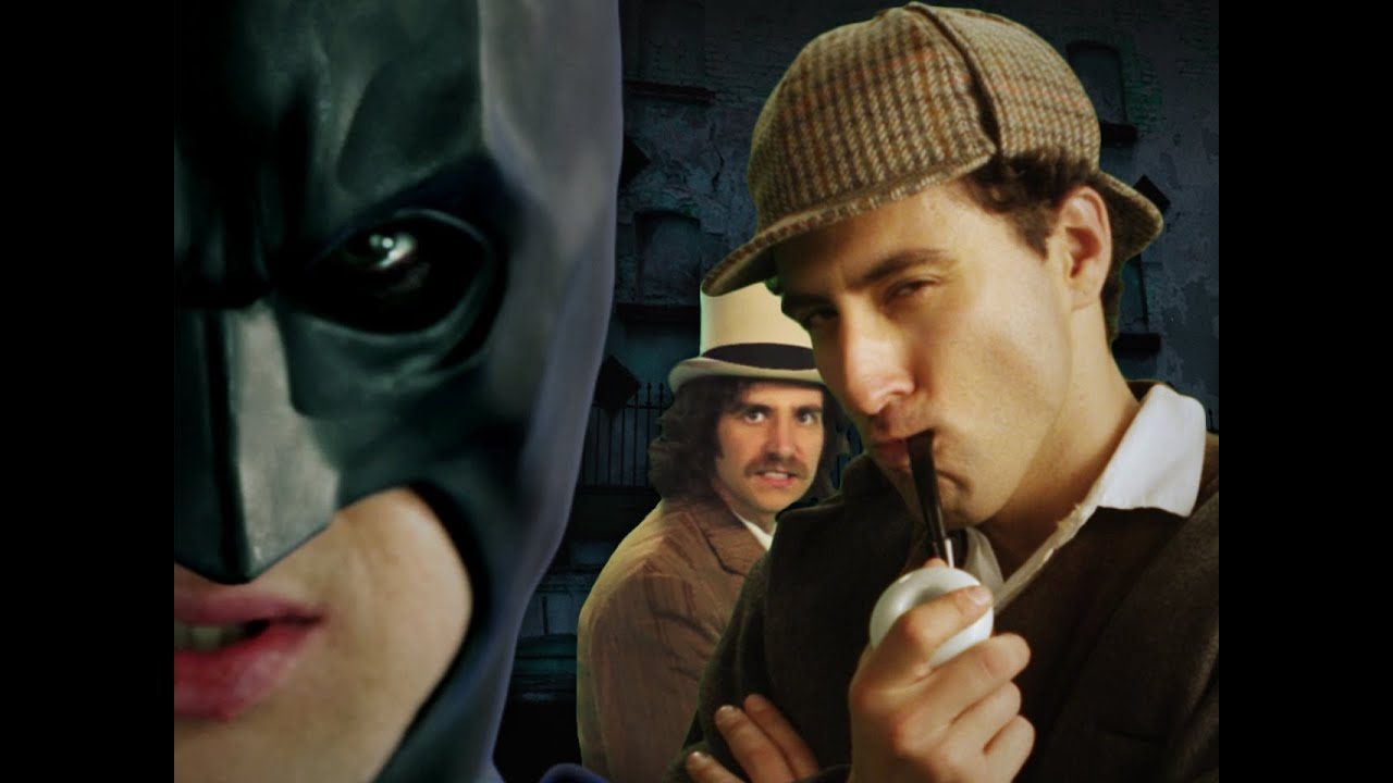Batman vs Sherlock Holmes  Epic Rap Battles of History