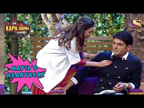 Sarla Checks Kapil's Heartbeat - The Kapil Sharma Show