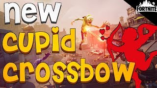 FORTNITE - New Cupid Crossbow, Cozy Campfire, Valentine's Themed Heroes And The Hydra Is Back!