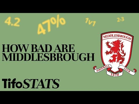 How Bad Are Middlesbrough? | By The Numbers