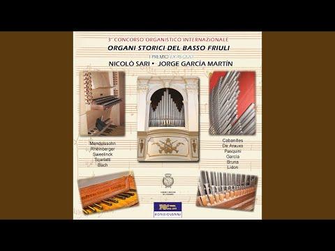 Libro de tientos y discursos de musica practica, y theorica de organo: No. 26. Segundo tiento...
