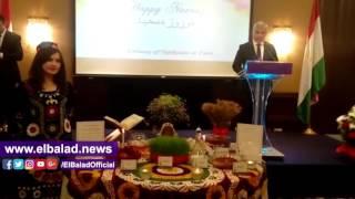 احتفالية طاجيكية بعيد النيروز على ضفاف النيل .. صور وفيديو