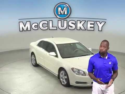 A13797ET Used 2011 Chevrolet Malibu White Sedan Test Drive, Review, For Sale -