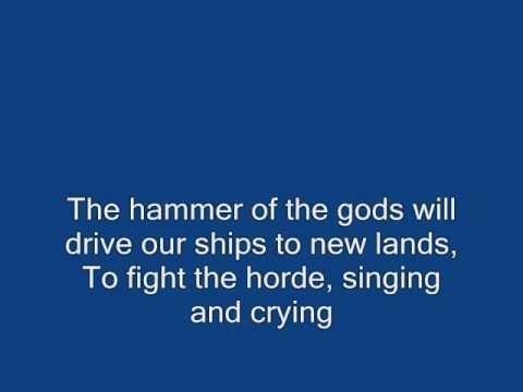 Led Zeppelin  Immigrant Song  Lyrics. mp3