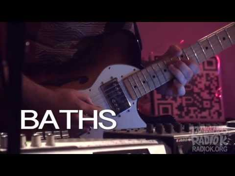 "Baths - ""Worsening"" (Live on Radio K)"