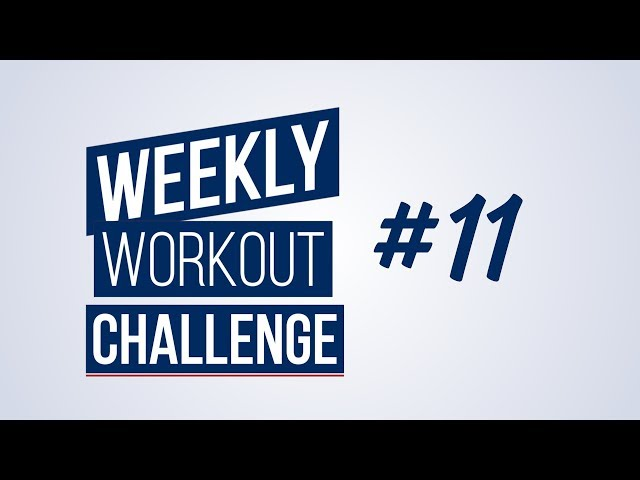 Weekly Workout Challenge #11 | Renaud Center