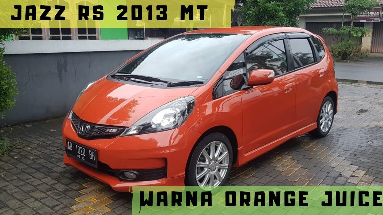 Jazz RS 2013 manual DIJUAL-WARNA LIMITED !!
