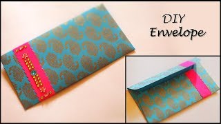 Envelope Making Tutorial | DIY Designer Gift Envelope | Paper Art and Crafts