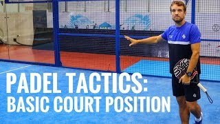Padel Tactics: Basic Court Position