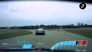 ZZPerformance ATS-V vs Ferrari 458 at GingerMan Raceway