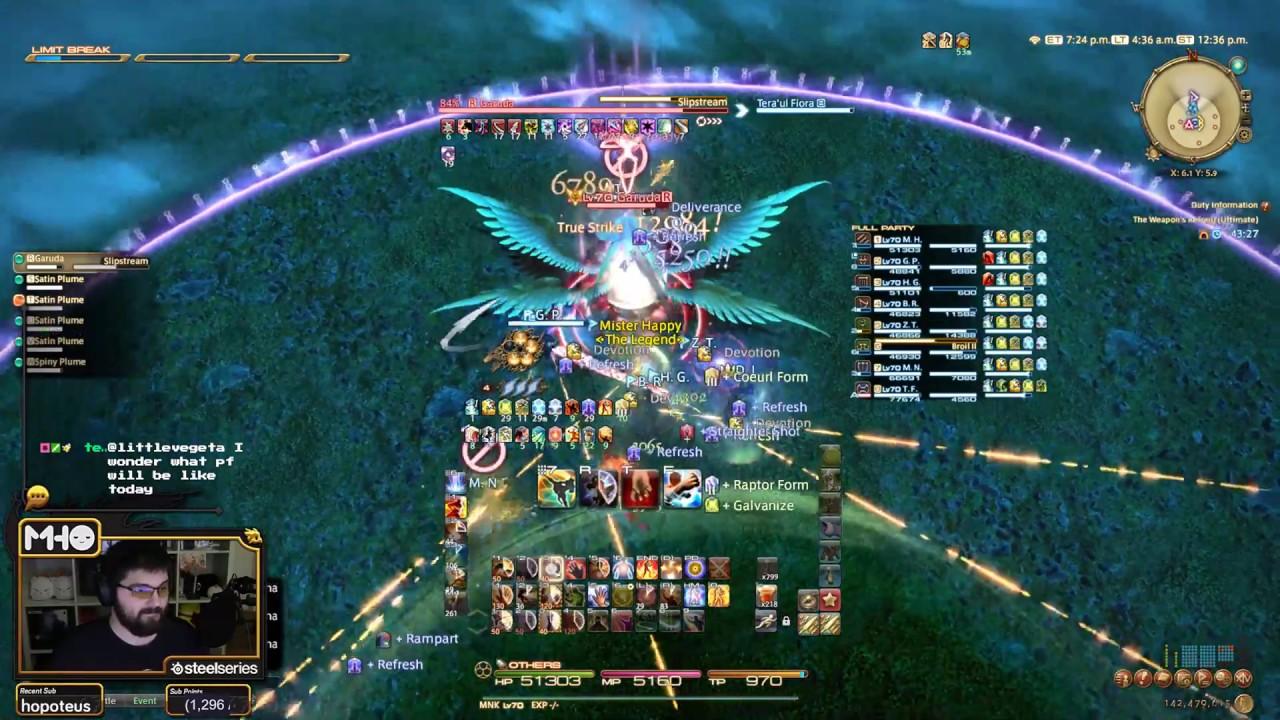 FFXIV: The Weapon's Refrain (Ultimate) Full Garuda Phase