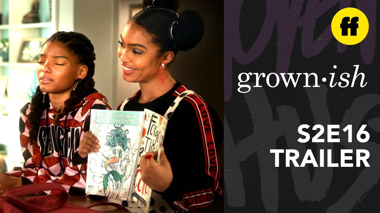 Grownish Season 2 Episode 16 Zoey Coloring Books
