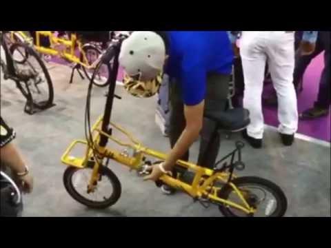 จักรยานพับ KHS F16 (สาธิตวิธีการพับ) : Amorn Bicycle