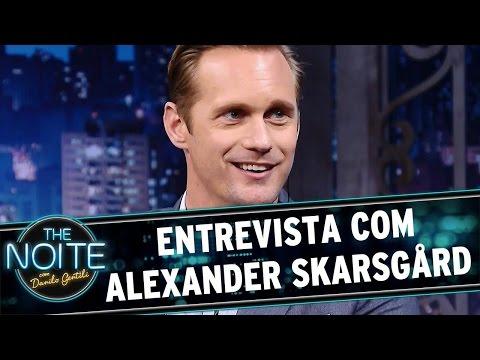 The Noite (19/07/16) - Entrevista com Alexander Skarsgård