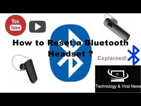 how-to-reset-a-bluetooth-headset-?