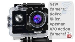 new camera gopro killer apeman a70 action camera