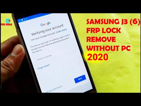 Samsung  J3 (6) J320F FRP Lock Remove 2019 Without PC
