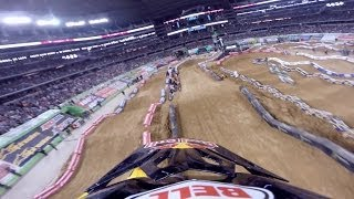 GoPro: James Stewart's Winning Run – 2014 Monster Energy Supercross Arlington