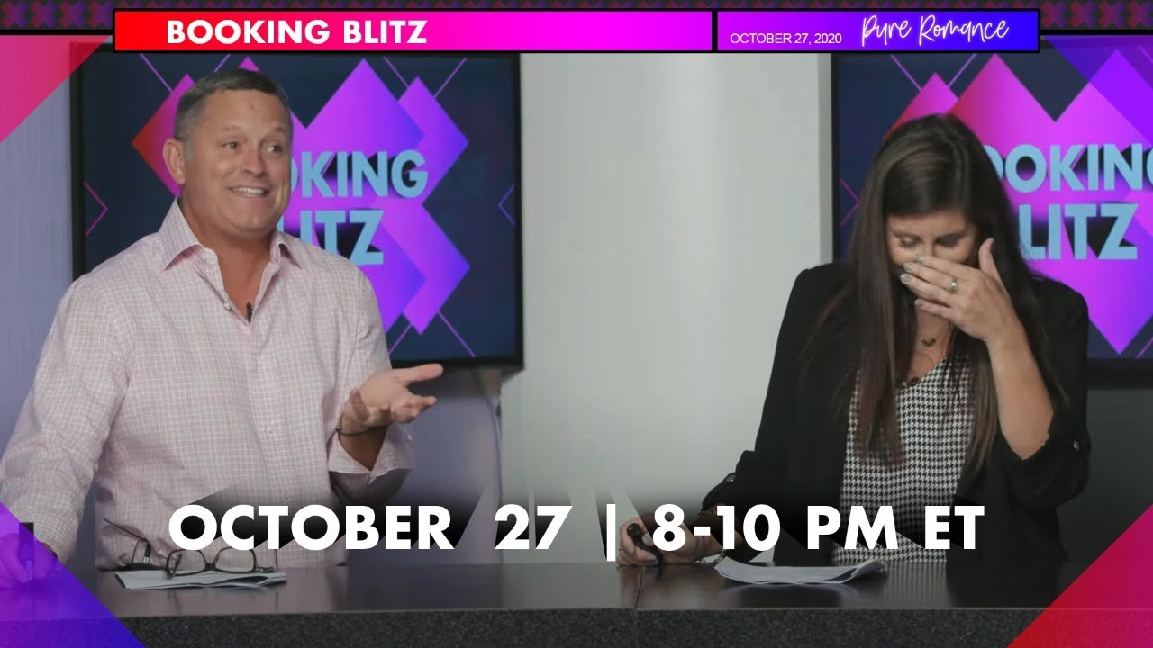 BOOKING BLITZ | Day Three | Tuesday, October 27th