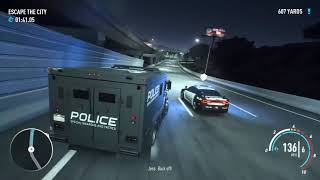Need For Speed Payback   Skyhammer Mission with stolen Police Cars