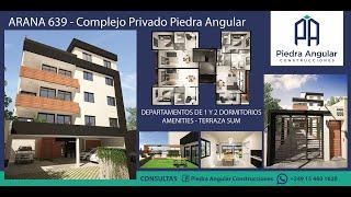 Piedra angular Complejo Privado presentación venta, SMR arquitectura, renders animacion Twinmotion