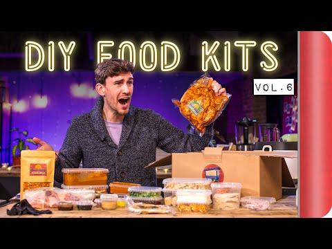 Taste Testing and Reviewing DIY Food Kits | Vol.6