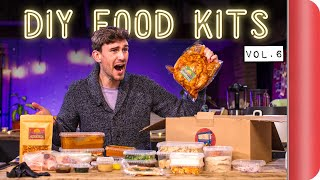 Taste Testing and Reviewing DIY Food Kits | Vol.6