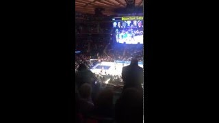 2-22-16 - Knicks vs. Raptors - Jimmer Big Knicks Debut