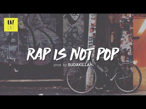 (free) Chill Jazz Boom Bap type beat x hip hop instrumental | 'Rap is not pop' prod. by SUDAKILLAH