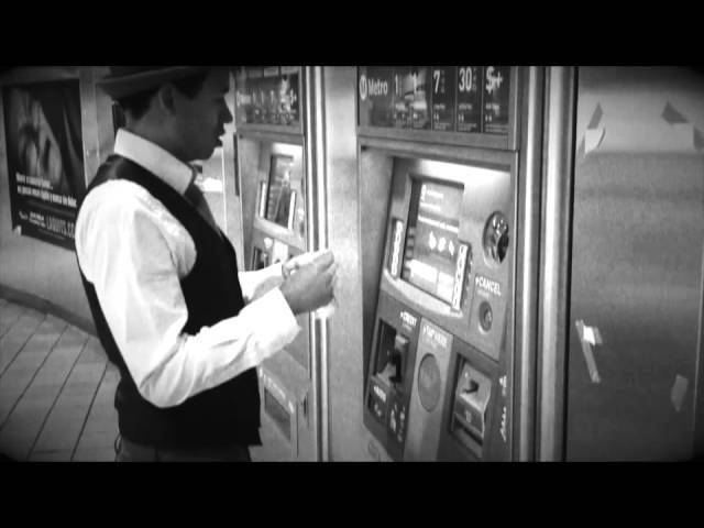 Dapper Dan Rides the Subway