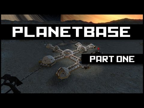 Planetbase - Class M - Gameplay Ep.1 - Survival ★ Let's Play