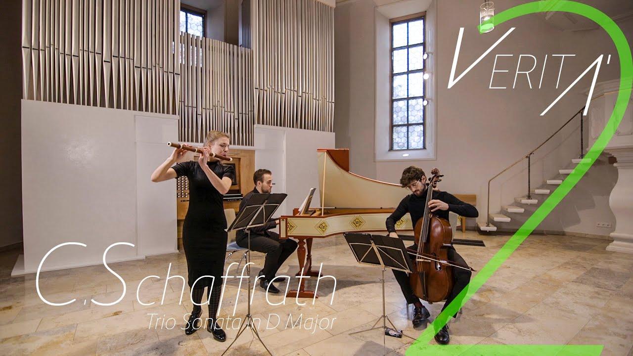 VERITÀ - C. Schaffrath, Trio Sonata in D major, CSWV E:3