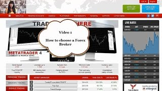Forex Trading for Beginners. How to Choose a Broker