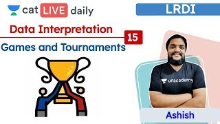 CAT: Games and tournaments – L15 | DATA INTERPRETATION | Unacademy CAT | Ashish Sir